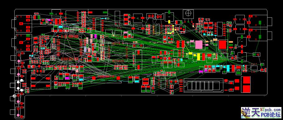 pcb am收音机电路图