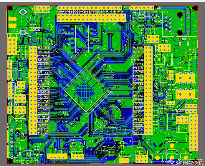 STM32F407ZET6+