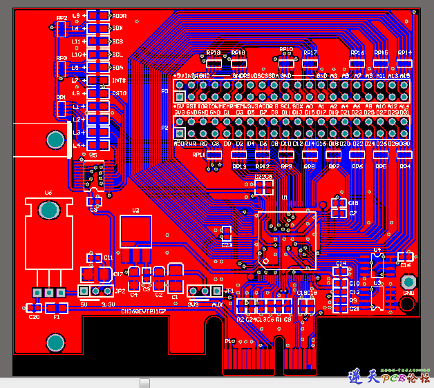 CH368 做的PC