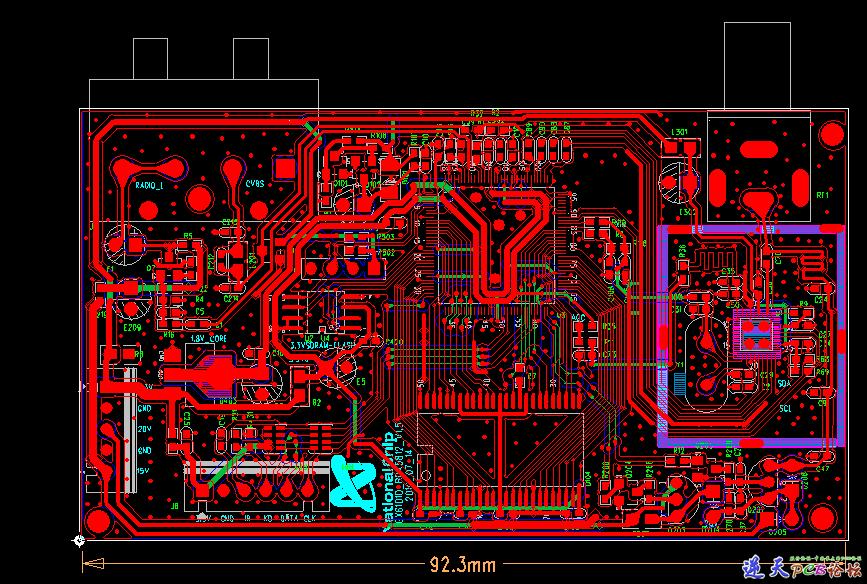 GX6101D PCB