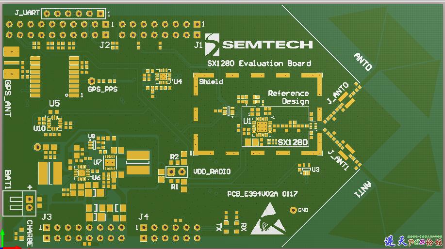 SX1280射频
