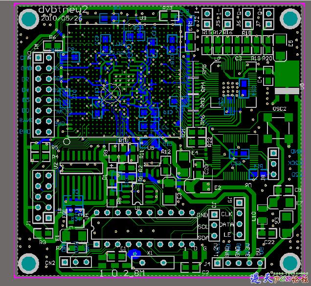 DVB-T NEW2 PCB