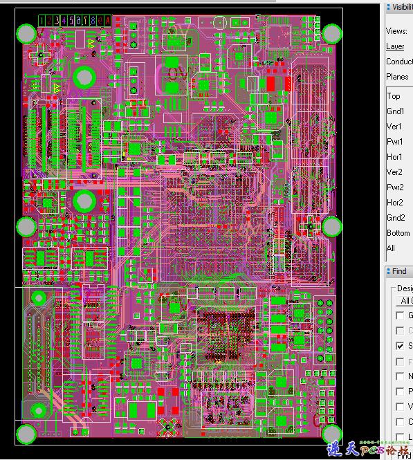 10层PCB-XC5VL