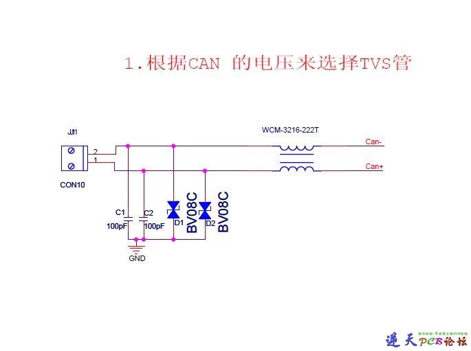 CAN接口EMC