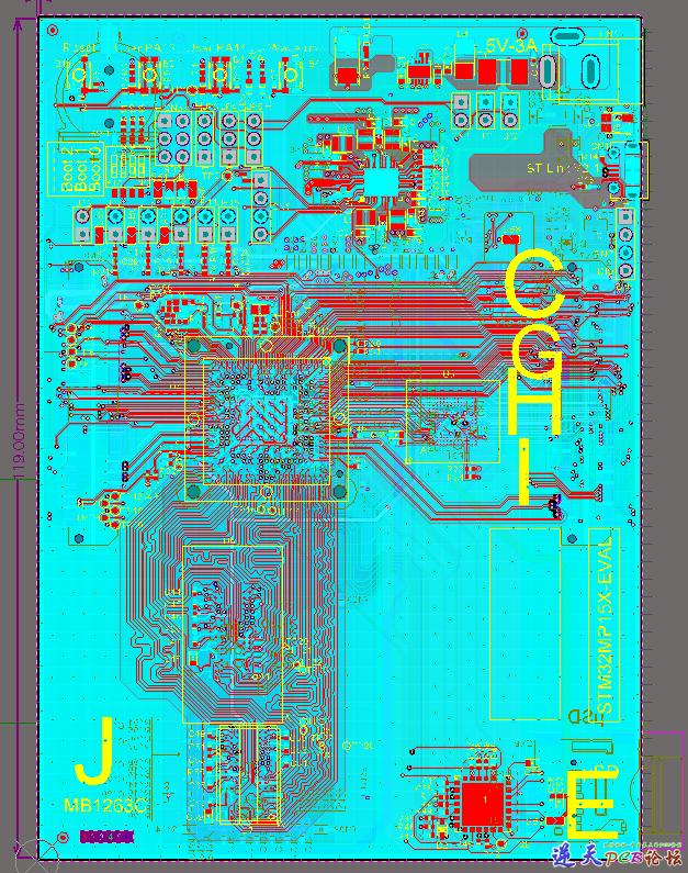 STM32MP157-EV1