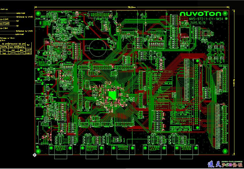 nuc972 Demo板