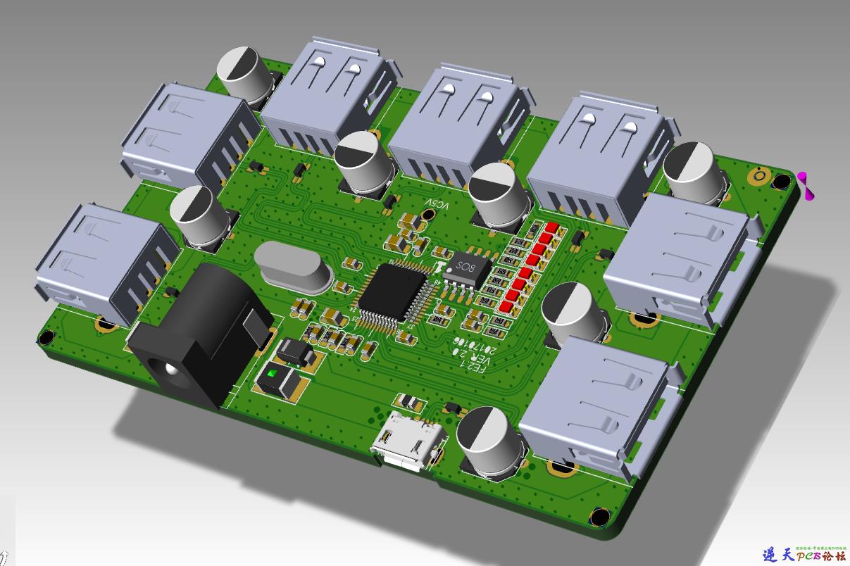 PADS 3D PCB