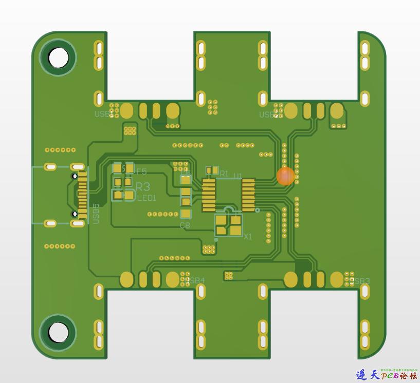 FE8.1 USB HUB