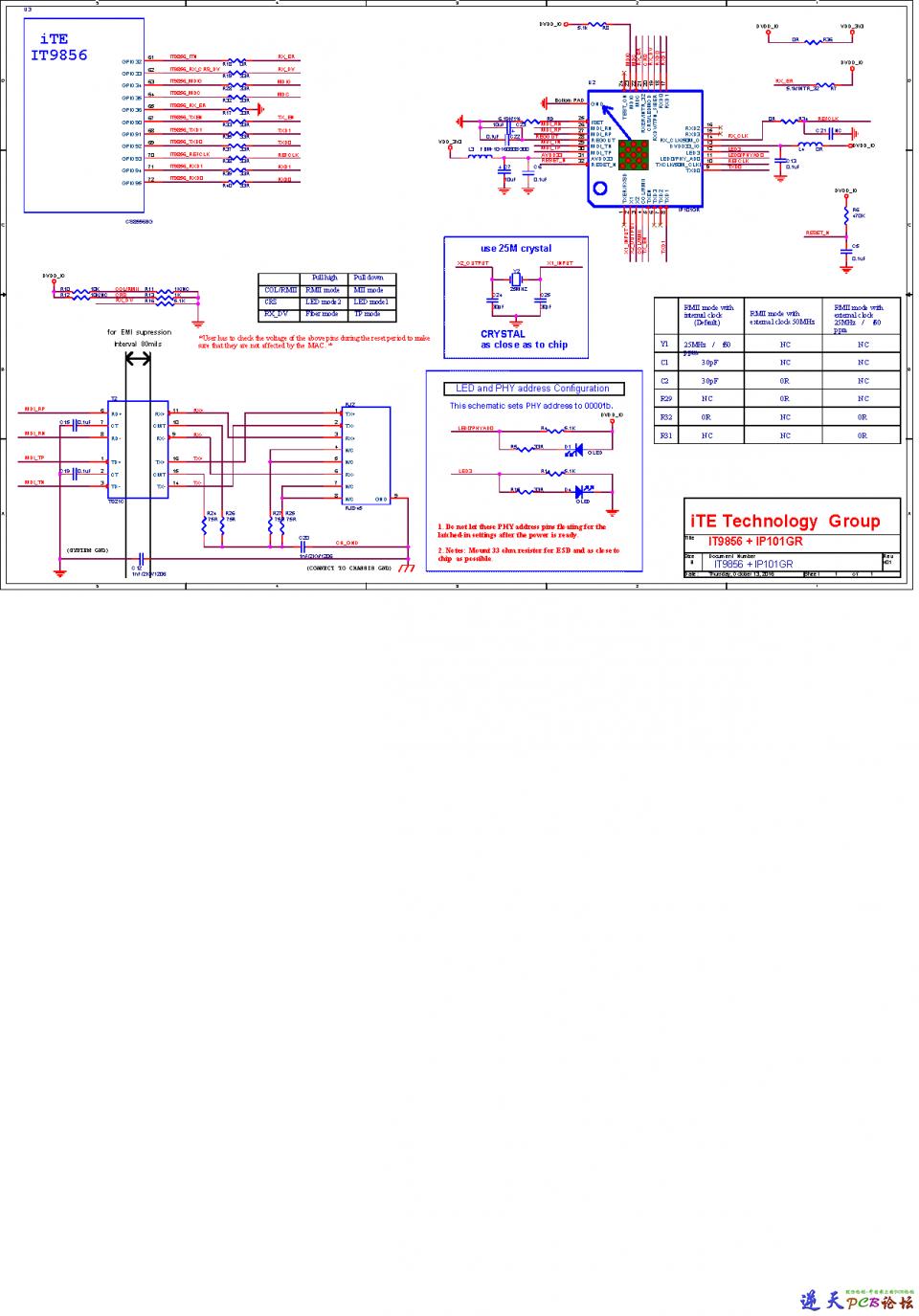 IT9850+IP101GR