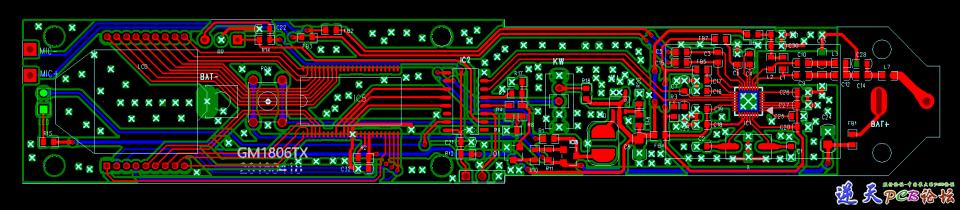 GM1806TX PCB