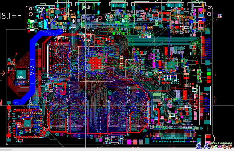CPU 出线